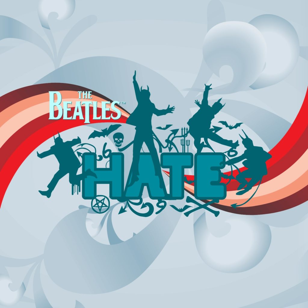 The Beatles HATE CD Cover